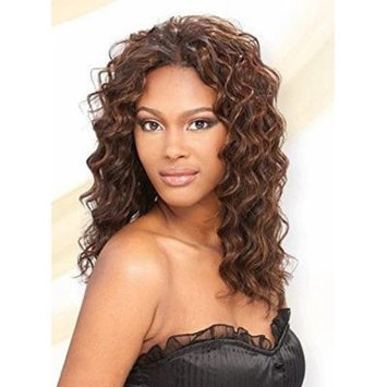 Q LOOSE DEEP 4PCS - MilkyWay Que Fourbulous Human Hair MasterMix Weave Extensions #2 Dark Brown