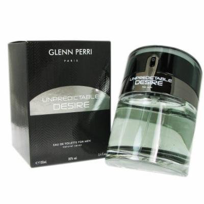Glenn Perri Unpredictable Desire Eau De Toilette Spray for Men, 3.4 Ounce