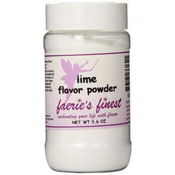 Faeries Finest Flavor Powder, Lime, 5.60 Ounce