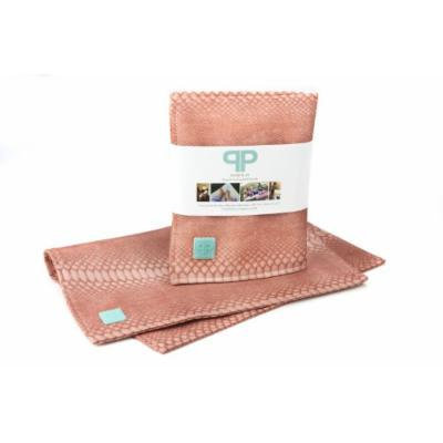 Posh Play - Luxury Changing Pad and Placemat- Grapefruit