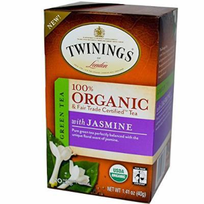 Twinings 100% Organic Green Tea with Jasmine