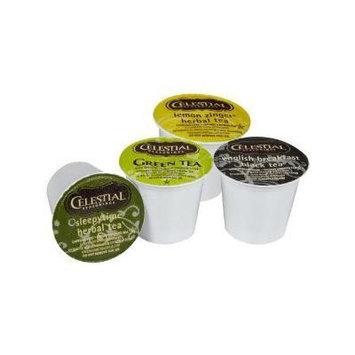 Celestial Seasonings Tea Sampler, K-Cup Portion Pack for Keurig K-Cup Brewers, 22-Count (Pack of 2)
