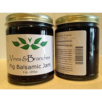Vines & Branches Black Fig Balsamic Jam Spread