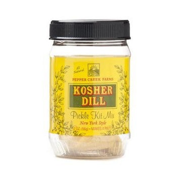 Pepper Creek Farms 80C Kosher Dill Pickle Mix - Pack of 12