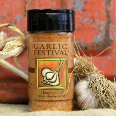 Garlic Festival Mesquite Grill Seasoning (Small)