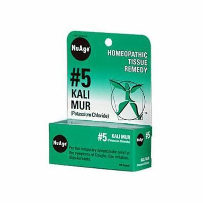 New - Hyland's NuAge No 5 Kali Mur - 125 Tablets
