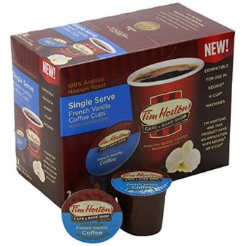 Tim Hortons Single Serve Capsules, French Vanilla, 12 Count (Pack of 6)