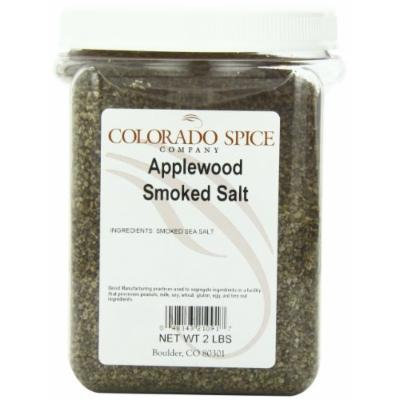 Colorado Spice Applewood Smoked Salt, 2 Pound