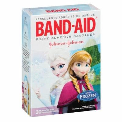 Band-Aid Adhesive Bandages, Disney's Frozen, Assorted Sizes Pack of 4