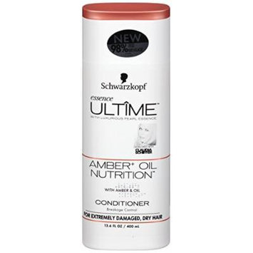 Schwarzkopf Essence Ultime Amber Oil Conditioner, 13.6 Ounce