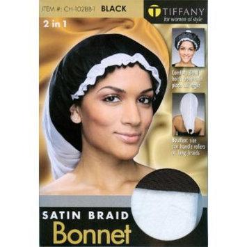 Tiffany Satin Braid Bonnet - 2 in 1