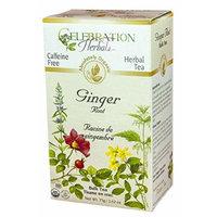 Celebration Herbals Organic Herbal Ginger Root Bulk Tea -- 2.62 oz