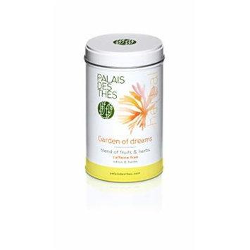 Palais des Thés Garden of Dreams Herbal Tea, 1.8oz Metal Tin