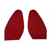 Vibram Red Rubber 100% Authentic and Brand New Soles Replacement Good for Christian Louboutin Shoes/heels