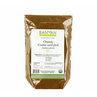 Banyan Botanicals Cumin Powder - Certified Organic, 1 lb - Cuminum cyminum - Common cooking spice that promotes healthy digestion
