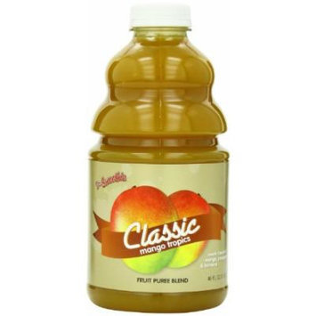 Dr. Smoothie Classic Mango Tropics Blends Smoothie Concentrate 46oz. 6 pack