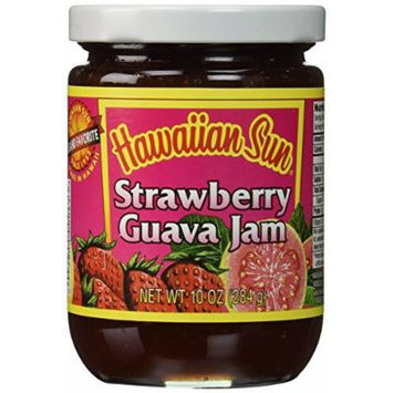 Hawaiian Sun Strawberry Guava Jam 10 oz