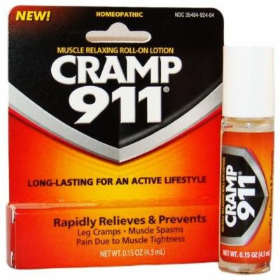 Cramp 911 Roll-On, Net Wt. 0.15 oz Pack of 2