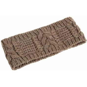 Nirvanna Designs HB09 Merino Cable Headband, Mud