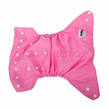 Adjustable Waterproof Reusable Diaper Nappy Covers For Baby With Pink Color