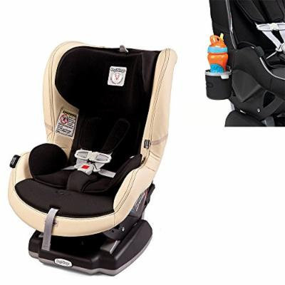 Peg Perego USA Primo Viaggio Convertible Car Seat w Cup Holder, Charcoal (Paloma)