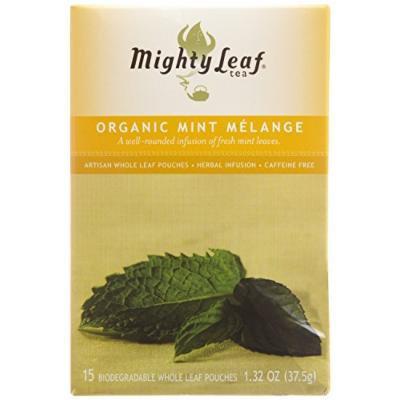 Mighty Leaf Tea, Organic Mint Melange --(Pack of 6)