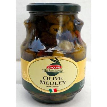 Cinquina (2 pack) Italian Medly Olives 580ml jars pitted olives from Italy