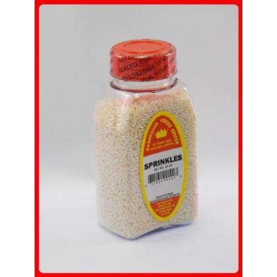 Marshalls Creek Spices Sprinkles White, 10 Ounce