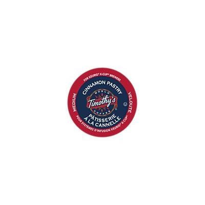 Timothy's World Coffee CINNAMON PASTRY 48 K-Cups for all Keurig Brewing Systems