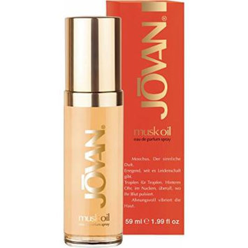 Coty Jovan Musk Oil Eau de Parfum Spray for Women, 1.99 Ounce