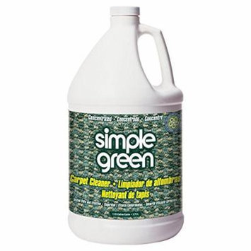 Simple Green 0510000615128 Institutional Professional Strength Carpet Cleaner in 1 gal Bottles (Pack of 6)