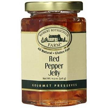 Robert Rothschild Farm Red Pepper Jelly, 11.5 Ounce