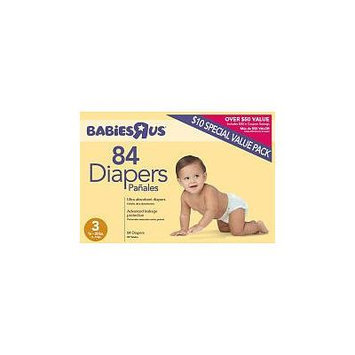 Babies R Us Diapers 84 count Size 3 for 16-28lbs