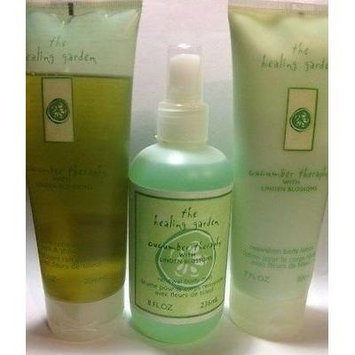 THE HEALING GARDEN CUCUMBER THERAPHY 3 PCS SET - SHOWER GEL + BODY MIST + BODY LOTION FULL SIZE.