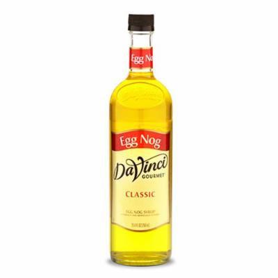 DaVinci Egg Nog Syrup, 750 ML Bottle