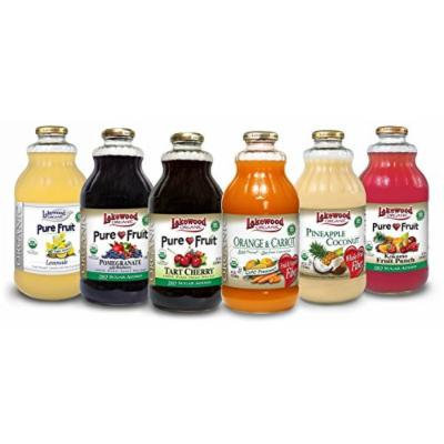 Lakewood Organic All-Star Variety Pack 2, 32-Ounce Bottles (Pack of 6)