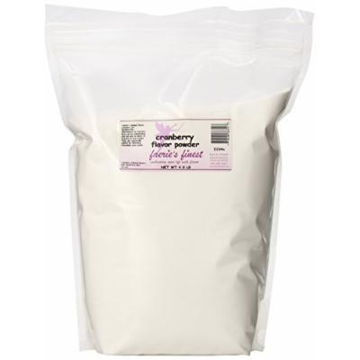 Faeries Finest Flavor Powder, Cranberry, 4.00 Pound