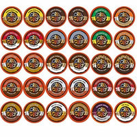 60-count Crazy Cups Flavored Coffee Single Serve Cups for Keurig K Cups Brewer Variety Pack Sampler