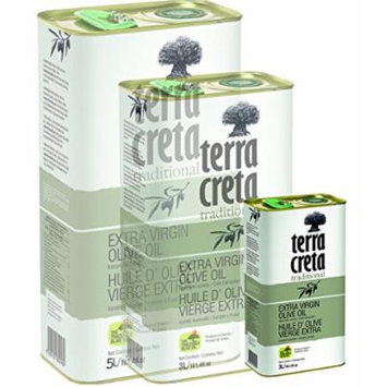 Terra Creta Extra Virgin Olive Oil 1lt Metal Tin
