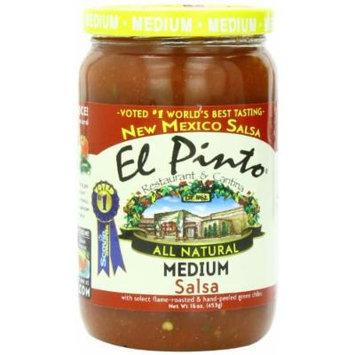 El Pinto Medium Salsa, 16 Ounce (Pack of 6)