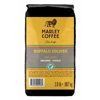 Marley Coffee Buffalo Soldier, Ground, 2 Pound