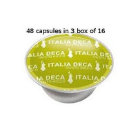 Bialetti: 48 Coffee Capsules Italia Deca * BOX OF 3 for 16 Capsules * [ Italian Import ]