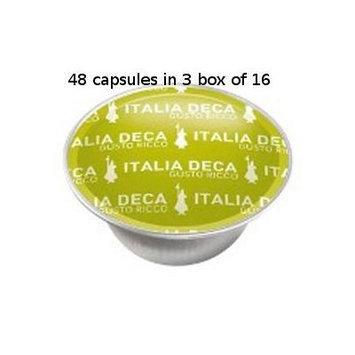 Bialetti: 48 Coffee Capsules Italia Deca * BOX OF 3 for 16 Capsules * [ Italian Import ]