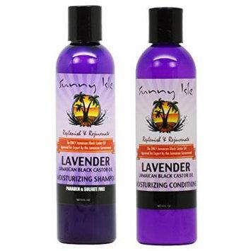 Sunny Isle Moisturizing Lavender Shampoo & Conditioner 8oz Duo