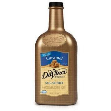 DaVinci Gourmet Sugar Free Caramel Sauce, 1/2 Gallon (Plastic Jug)