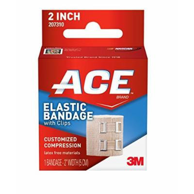 ACE Elastic Bandage with Clips, 3 Count