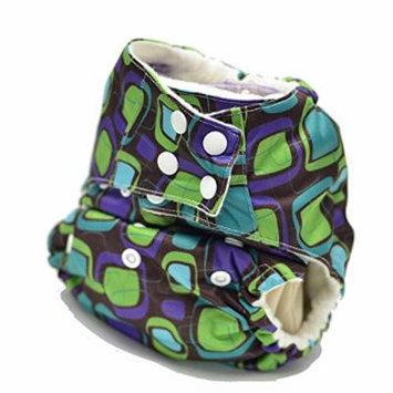 Sweet Pea One Size Pocket Diaper (Retro)