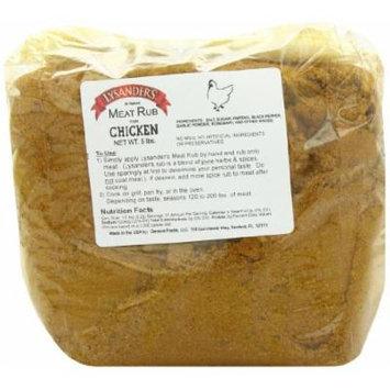 Lysander's Chicken Rub Seasoning, 5 Pound
