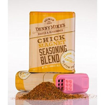 Chicken Spice Rub - Chick Magnet Premium Seasoning Blend - 3oz Shaker - Gluten Free - Makes Your Poultry Come Alive! (2Pack - 3 Oz Tins)