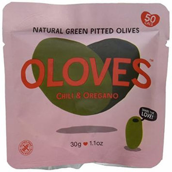 Oloves Olives Chili and Oregano (Pack of 30)